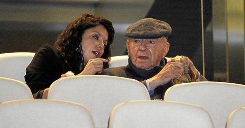 Alfredo Di Stéfano se casará con 86 años con Gina González, de 36.