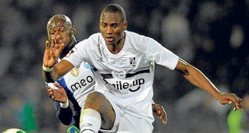Amido Baldé, delantero de 21 años y 1,93 metros lleva ocho goles en 20 partidos.