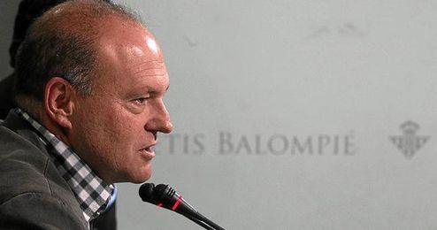Pepe Mel ha comparecido esta mañana ante los medios en la previa del encuentro ante el Barça.