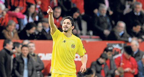 Pereira está contento en su cesión al Villarreal.