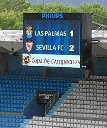 El División de Honor Sevillista a la final de la Copa Campeones.