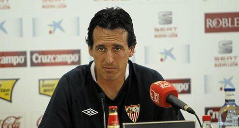 Emery espera encontrarse al mejor Málaga el domingo.
