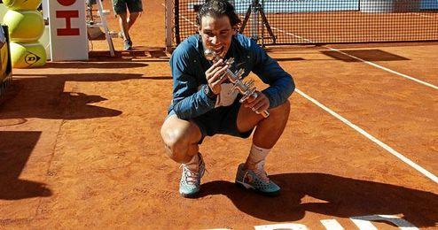Rafa Nadal, campeón del Masters 1000 de Madrid.