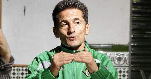 Luis Fradua, durante una entrevista concedida a ED.
