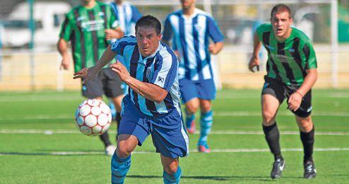 Los futbolistas del Ciudad Jardín persiguen el objetivo de la permanencia gracias a la labor de Pedro Rodríguez.