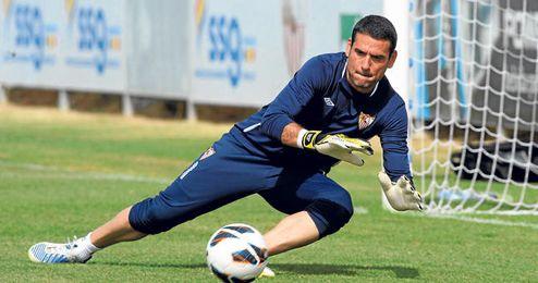 Palop señaló que le gustaría despedirse en el partido contra el Valencia.