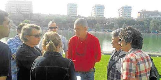 La delegada de Deportes, María del Mar Sánchez Estrella, se reunió con los clubes.