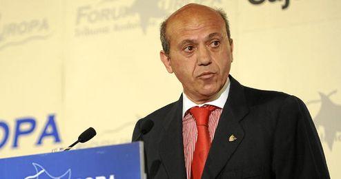 José María Del Nido durante una conferencia.