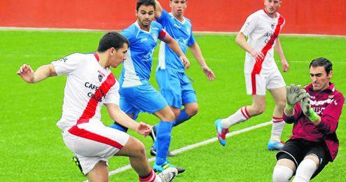 El Albaida celebró a lo grande el ascenso goleando al Camas por seis a cero.