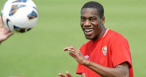 Geoffrey Kondogbia aún desconoce si seguirá en el Sevilla la próxima temporada.