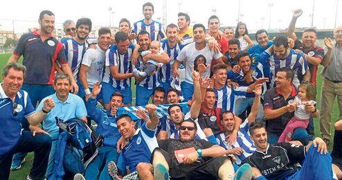 Celebración, pasando de Hytasa, donde ganaron al Cerro, hasta Alcalá de Guadaíra.