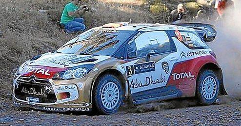 Dani Sordo marcha bien colocado en el Rally Acrópolis.