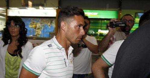 Rubén Castro jugará hoy en el Ciudad de Valencia con normalidad.