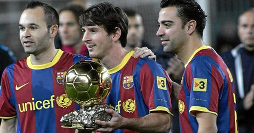 Messi, Xavi e Iniesta han sido el máximo goleador, mejor pasador y mayor asistente respectivamente.