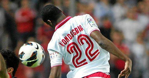 Kondogbia uno de los pilares del Sevilla para 2014.