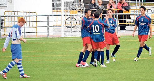 Imagen de un encuentro disputado por el Club Deportivo Salteras.