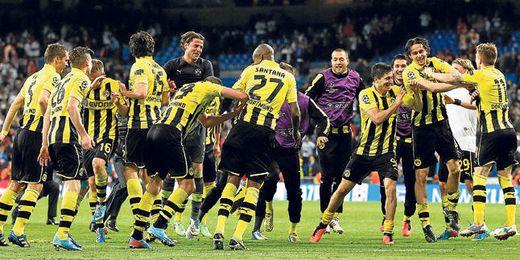 El Borussia Dortmund es uno de los equipos alemanes que más beneficios genera.