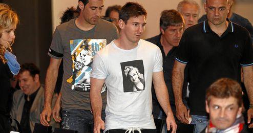 Messi, acusado de haber defraudado cuatro millones de euros a Hacienda.