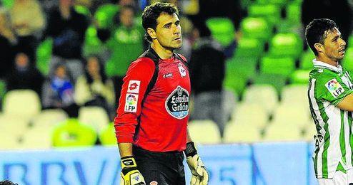 Aranzubia, posible objetivo del Betis, estaría negociando su salida del Deportivo.