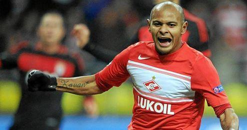 El diario ruso ´Izvestia´ situaba al atacante brasileño Ariclenes Da Silva (Spartak de Moscú) muy cerca del Sevilla.