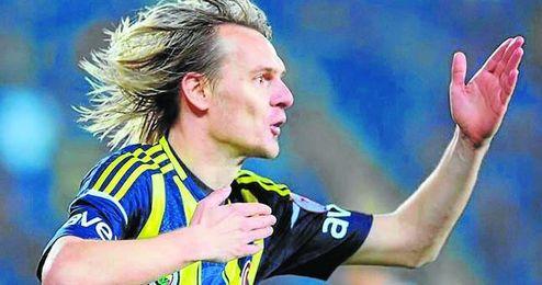 El extremo Milos Krasic no ha cumplido con las expectativas en su primera temporada en el Fenerbahçe.