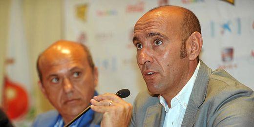 Del Nido y Monchi han valorado esta mañana diferentes aspectos deportivos del club de Nervión.