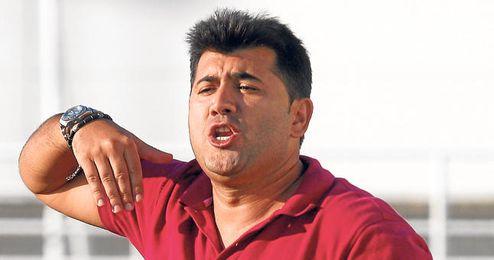 José Santizo, en su primera etapa en el club torrealbense.