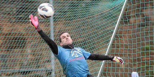 Javi Varas jugó la temporada pasada cedido en el Celta de Vigo.
