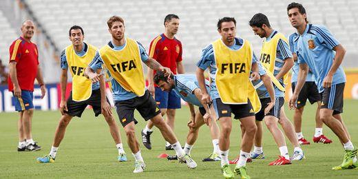 La selección española salió derrota en la final frente a Brasil por 3-0.