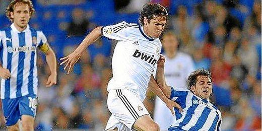 Kaká en un partido de la pasada temporada.