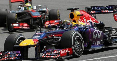 Vettel gana en Alemania