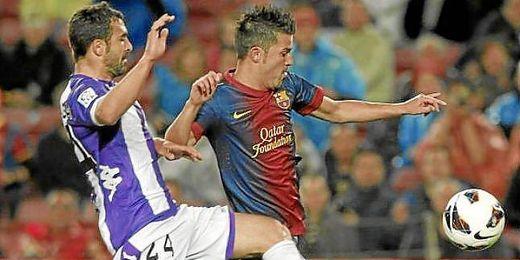 David Villa disputando un partido la pasada temporada.
