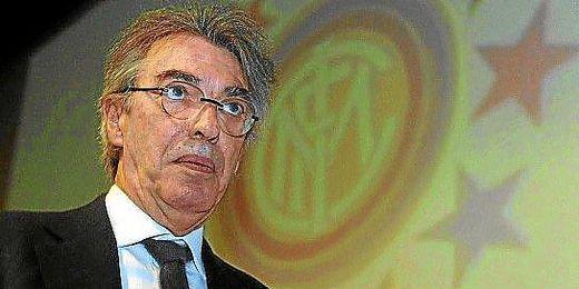 La futura salida de Moratti coincide con un mal momento del club.