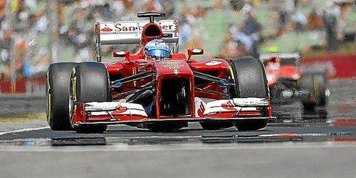 Alonso saldrá quinto en Hungría.
