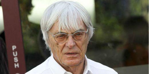 Bernie Ecclestone, presidente y director ejecutivo de la Fórmula 1.