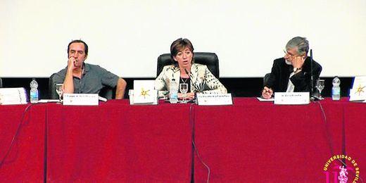 La vicerrectora de Estudiantes de la Universidad hispalense, Julia de la Fuente.