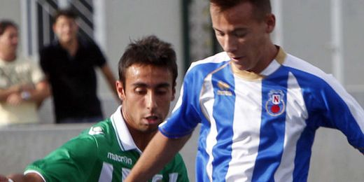 Rafa Navarro, en su etapa bética.