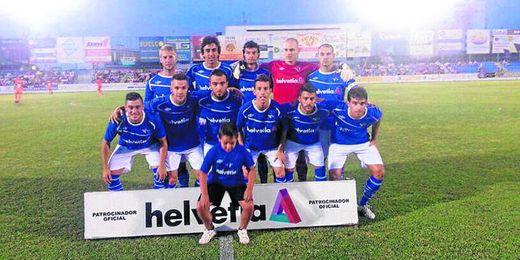 El primer once del Écija de la temporada.