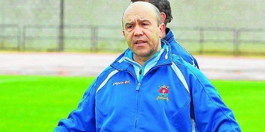 El entrenador del San José, Juan Carlos Garzón