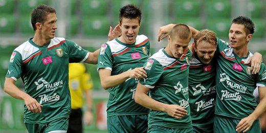 El Slask, rival del Sevilla, juega hoy la Copa de Polonia.