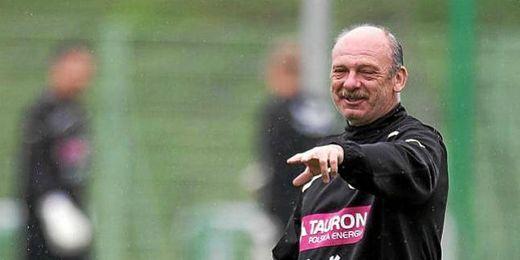 Stanislav Levy, entrenador del Slask Wraclow.