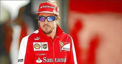 El piloto de Ferrari en el circuito de Yeongam, donde se disputó el Gran Premio de Corea.
