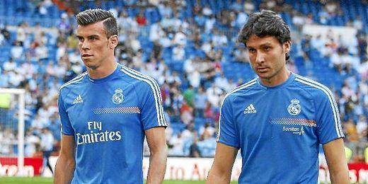 Bale se retira lesionado en el calentamiento del Madrid-Getafe.