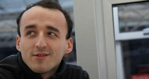 Robert Kubica en un primer plano.