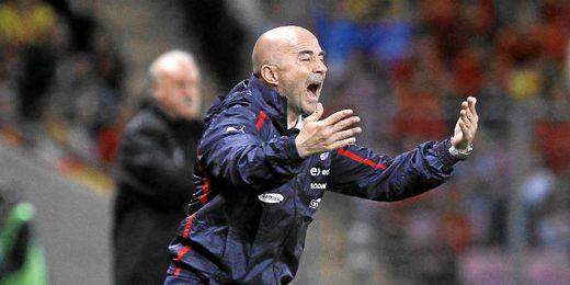 Jorge Sampaoli, seleccionador chileno.