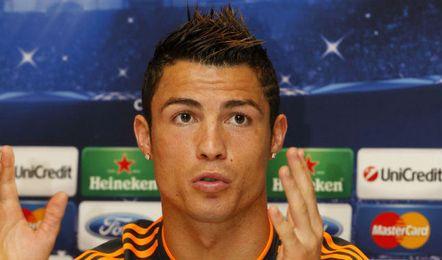 Cristiano Ronaldo atiende a la prensa previa a la jornada de Champions.