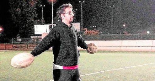 Álvaro Doctor espera que el último triunfo sea un salto de calidad para su equipo.