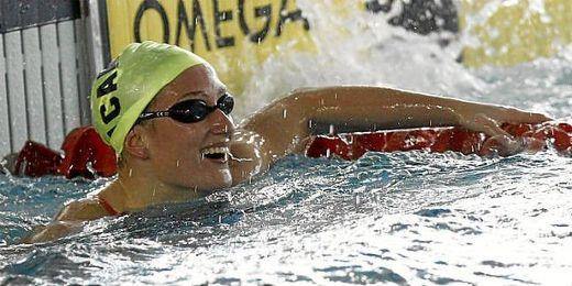Mireia Belmonte, campeona olímpica en Londres 2012.
