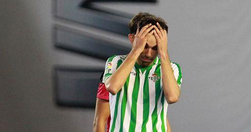 Jordi Figueras lamenta la derrota final.