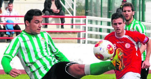 Marc Mas fue de los mejores del filial verdiblanco.